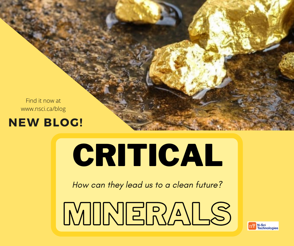 critical minerals - read our latest blog now on our website at www.nsci.ca